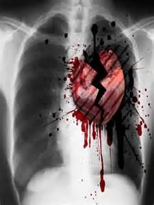 coeur saigne